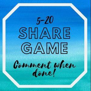 🌟 SHARE GAME 🌟 I SHARE BACK!